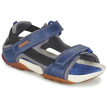 Shoes Fiú Szandálok / Saruk Camper OUS Tengerész