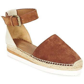Cipők Női Gyékény talpú cipők See by Chloé SB26150 Barna