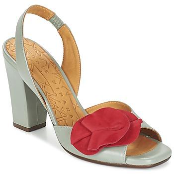 Cipők Női Szandálok / Saruk Chie Mihara ANAMI Szürke / Piros