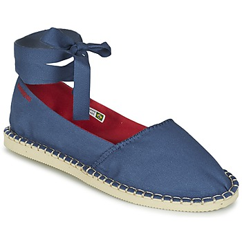 Cipők Női Gyékény talpú cipők Havaianas ORIGINE SLIM Kék