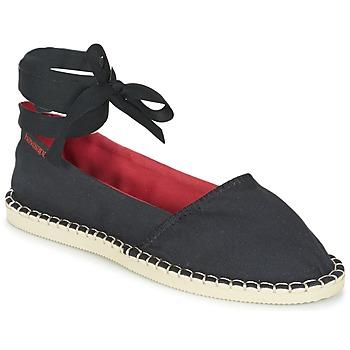 Cipők Női Gyékény talpú cipők Havaianas ORIGINE SLIM Fekete