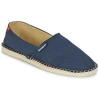 Cipők Gyékény talpú cipők Havaianas ORIGINE III Tengerész / Bézs