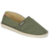 Cipők Gyékény talpú cipők Havaianas ORIGINE III Zöld