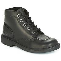 Cipők Női Csizmák Kickers KICK COL PERM Fekete