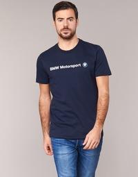 Ruhák Férfi Rövid ujjú pólók Puma BMW MSP LOGO TEE Tengerész