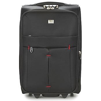Bags Puha bőröndök David Jones JAVESKA 49L Fekete