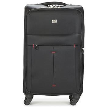 Bags Puha bőröndök David Jones JAVESKA 76L Fekete