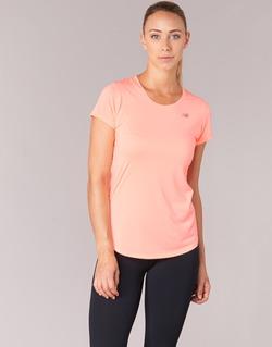 Ruhák Női Rövid ujjú pólók New Balance ACCELERATE T Korall