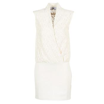 Ruhák Női Rövid ruhák Le Temps des Cerises SHERY Fehér