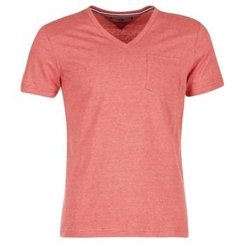 Ruhák Férfi Rövid ujjú pólók Tommy Hilfiger HTR END ON END Rózsaszín