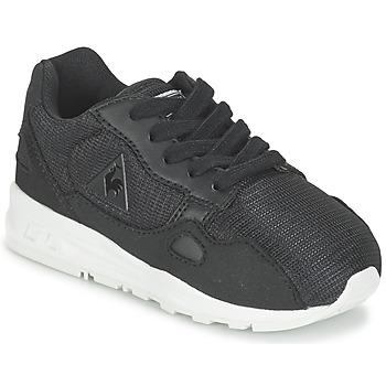 Cipők Gyerek Rövid szárú edzőcipők Le Coq Sportif LCS R900 INF MESH Fekete
