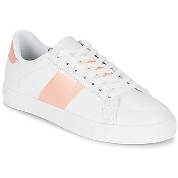 Cipők Női Rövid szárú edzőcipők Spot on REVILLIA Fehér / Rózsaszín