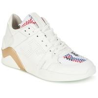 Cipők Női Magas szárú edzőcipők Serafini CHICAGO Fehér / Arany