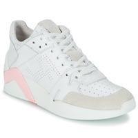 Cipők Női Magas szárú edzőcipők Serafini CHICAGO Fehér / Rózsaszín