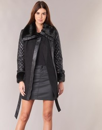 Ruhák Női Kabátok Morgan GEFROU Fekete