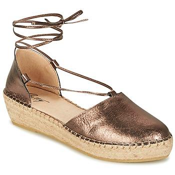 Cipők Női Szandálok / Saruk Betty London GIORDA Bronz