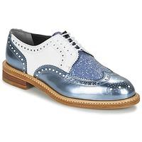 Cipők Női Oxford cipők Robert Clergerie ROELTM Kék / Fémes / Fehér