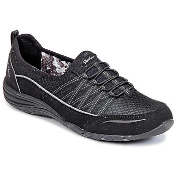 Cipők Női Rövid szárú edzőcipők Skechers UNITY Fekete