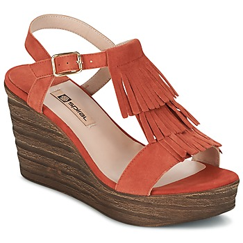 Cipők Női Szandálok / Saruk Spiral CARLA Narancssárga