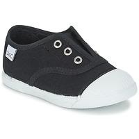 Shoes Gyerek Rövid szárú edzőcipők Citrouille et Compagnie RIVIALELLE Fekete