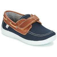 Shoes Fiú Vitorlás cipők Citrouille et Compagnie GASCATO Tengerész / Barna