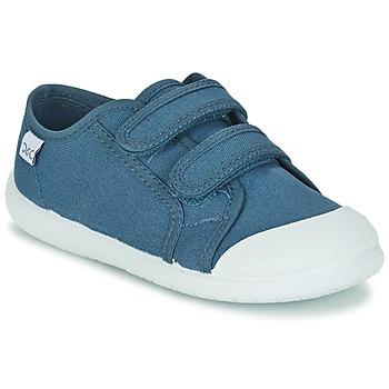 Cipők Gyerek Rövid szárú edzőcipők Citrouille et Compagnie GLASSIA Kék