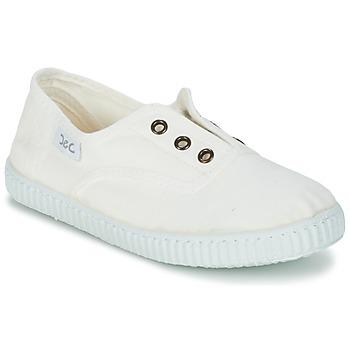 Cipők Gyerek Rövid szárú edzőcipők Citrouille et Compagnie GAMBOUTA Fehér