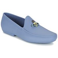 Cipők Férfi Mokkaszínek Vivienne Westwood ENAMELLED ORB MOC Kék