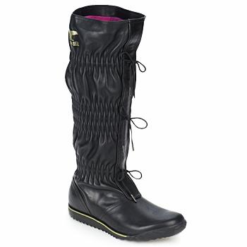 Cipők Női Városi csizmák Sorel FIRENZY Fekete