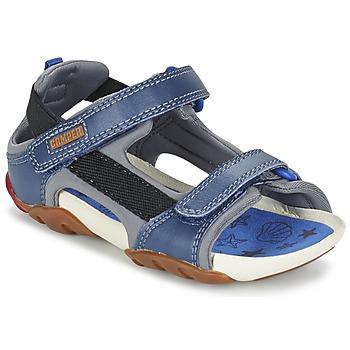 Cipők Fiú Szandálok / Saruk Camper OUS Kék