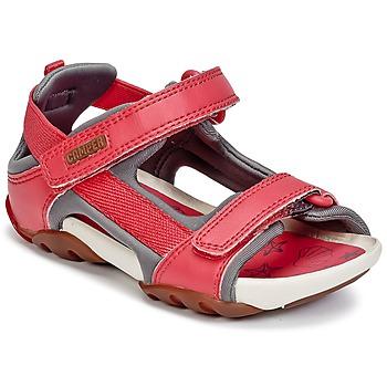 Cipők Lány Szandálok / Saruk Camper OUS Piros