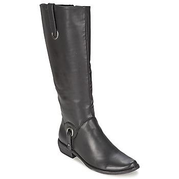Shoes Női Városi csizmák Les P'tites Bombes ADAGIO Fekete