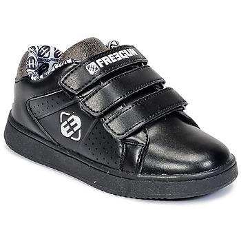 Cipők Gyerek Rövid szárú edzőcipők Freegun FG ULSPORT Fekete  / Fehér