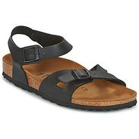 Cipők Női Szandálok / Saruk Birkenstock RIO Fekete