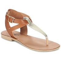 Cipők Női Szandálok / Saruk Betty London VITAMO Teve / Arany