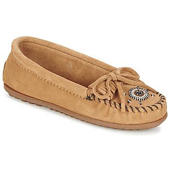 Cipők Női Mokkaszínek Minnetonka ME TO WE MOC Tópszínű