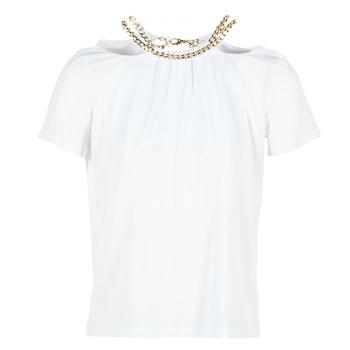 Ruhák Női Blúzok Versace Jeans B2HPB721 Fehér