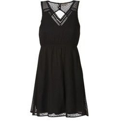 material Női Rövid ruhák Vero Moda BIANCA Fekete