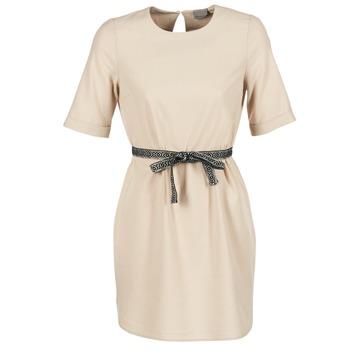 material Női Rövid ruhák Vero Moda MILO SUKI Bézs