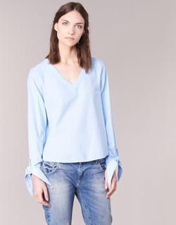 material Női Blúzok Vero Moda ELVA Kék