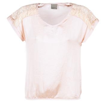material Női Blúzok Vero Moda SATINI Rózsaszín