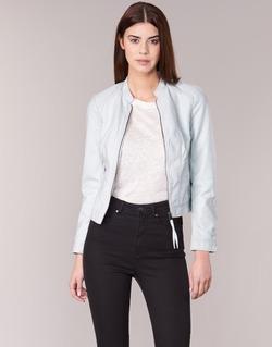 material Női Bőrkabátok / Vero Moda QUEEN Kék / Tiszta