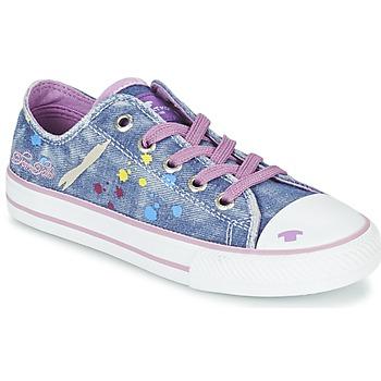 Cipők Lány Rövid szárú edzőcipők Tom Tailor JIJAA Kék / Lila