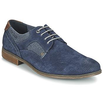 Cipők Férfi Oxford cipők Tom Tailor RAULNATE Kék