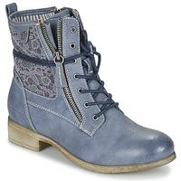 Cipők Női Csizmák Tom Tailor RELOUNI Kék