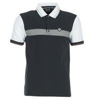 material Férfi Rövid ujjú galléros pólók Emporio Armani EA7 TENNIS CLASSIC Tengerész / Fehér