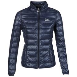 material Női Steppelt kabátok Emporio Armani EA7 TRAIN CORE Tengerész