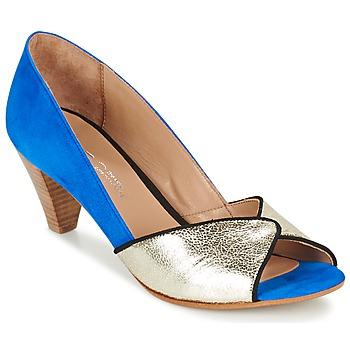 Cipők Női Félcipők Betty London GABYN Kék / Arany