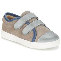 Cipők Fiú Rövid szárú edzőcipők Citrouille et Compagnie GOUTOU Szürke / Tópszínű / Kék