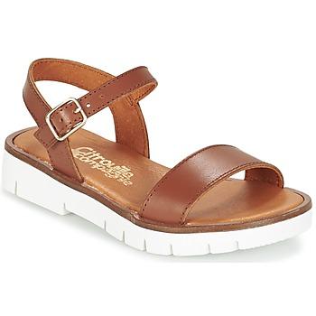 Shoes Lány Szandálok / Saruk Citrouille et Compagnie GLAPOTI Teve